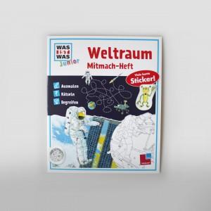 WIW JUNIOR Mitmach-Heft Weltraum