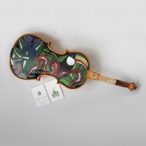 Geigenbemalung & Visitenkarten